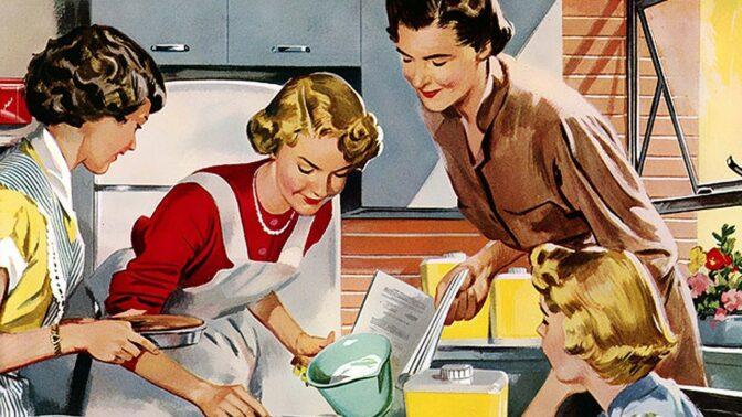 5 šílených rad pro hospodyňky z padesátých let: Magické pilulky na stres a jak být šik 24 hodin denně