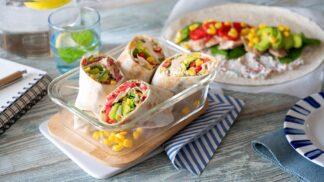 Tortilla s krůtím masem a kukuřicí: Skvělá svačinka i lehký oběd