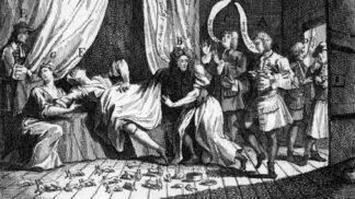 Žena rodící králíky: Největší lékařský skandál 18. století pobláznil i krále Jiřího I.