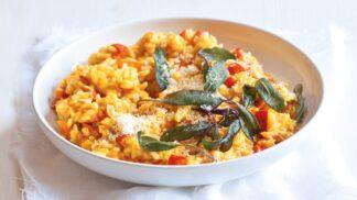 Dýňové rizoto: Zdravý a chutný pokrm do chladných dnů