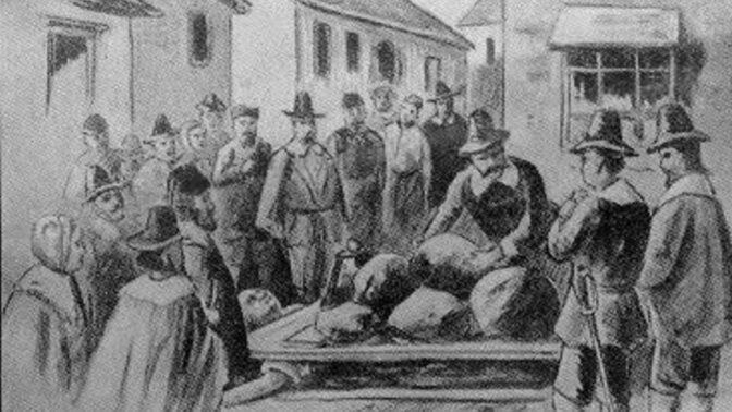 Tragický příběh Gilese Coreyho: Bohatý farmář byl prý čaroděj, na popravišti trpěl tři dny