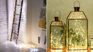 Sezóna vánočních světýlek je tady! A spolu s ní 25 kouzelných inspirací