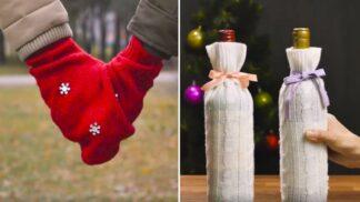 DIY: Ze starých svetrů vykouzlíte nádherné věci! Přinášíme 4 inspirace