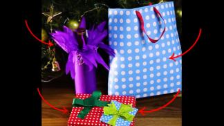 6 tipů, jak překvapit blízké originálně zabaleným dárkem