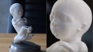3D tisk vládne světem: Teď už si můžete pochovat model svého nenarozeného miminka