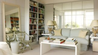 Renomovaná designérka dokázala nemožné – optickými klamy zvětšila svůj malý byt na dvojnásob
