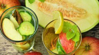Letní osvěžující hit — drink z okurky a melounu!
