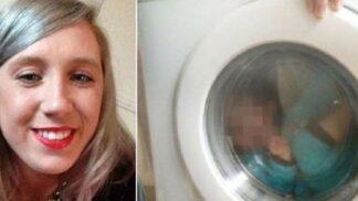 Bláznivá matka dala fotku svého dítěte s Downovým syndromem zavřeného v pračce na sociální síť # Thumbnail