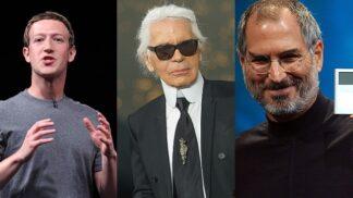 Mark Zuckerberg, Karl Lagerfeld nebo Steve Jobs. Proč nosí stejné oblečení každičký den?