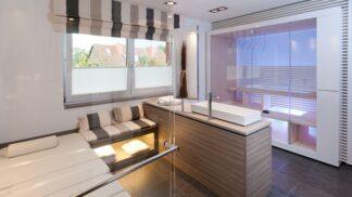 Koupelna — místo, kde se chcete cítit jako sebevědomá bohyně v lázních na Olympu