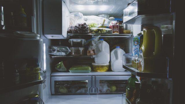 zavěste vodu do chladničky