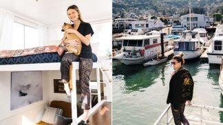 Na palubu! Modelka si koupila hausbót a proměnila ho v něco neuvěřitelného # Thumbnail