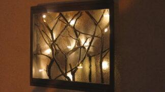 Dekorace do interiéru: Jak si vyrobit intimní osvětlení na zeď? # Thumbnail