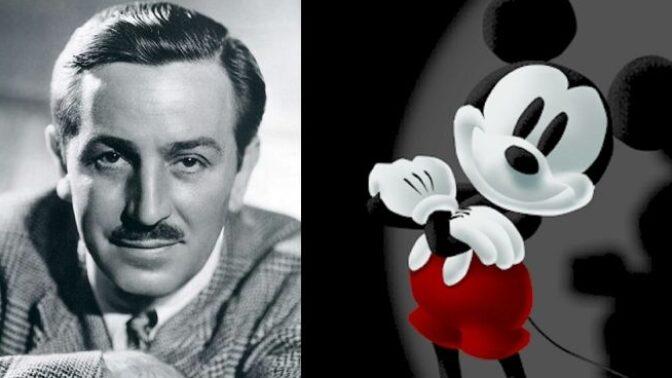 Táta Mickey Mouse, který natočil i film o menstruaci: Uplynulo 52 let od smrti Walta Disneyho