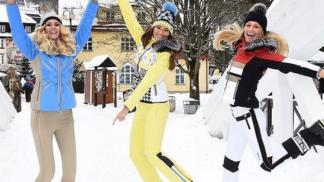 Lyžařské umění není všechno: Jak být módní královnou svahu
