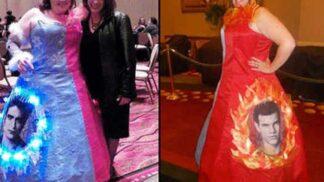 Nepovedené plesové šaty: Galerie toho, kam až sahá lidská odvaha