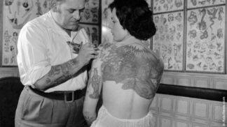 Ze života tatérů: Jak vypadala nejoblíbenější tetování doby minulé # Thumbnail