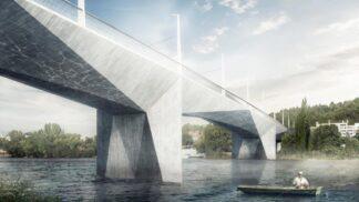 Dvorecký most: Praha bude mít novou, kubismem inspirovanou stavbu