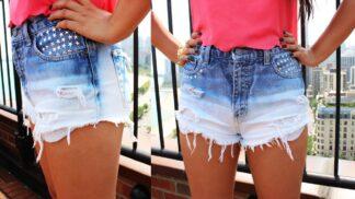 Léto volá po odhalených nohách. Ustřihněte nohavice a pochlubte se stylovými kraťasy!