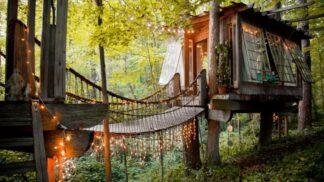 7 úchvatných stromových domků k pronájmu