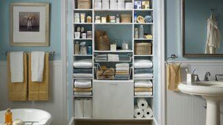 5 organizačních tipů pro do-ko-na-lou koupelnu