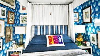 17 malých ložnic pojatých ve velkém stylu
