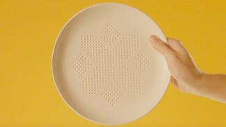 Tento talíř nechá zmizet 30 kalorií z každého naservírovaného jídla