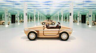 Jako ze stavebnice. Toyota představila koncept nového vozu ze dřeva