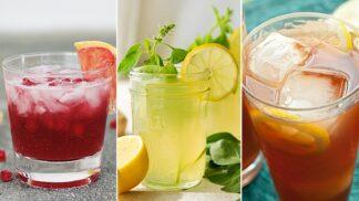 Příliv antioxidantů i hubnoucích látek. 5 domácích limonád pro zdravé letní křivky