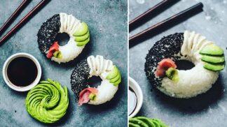 Donutové šílenství pokračuje: Svět si ve velkém připravuje sushi donuty a není divu – jsou extrémně jednoduché