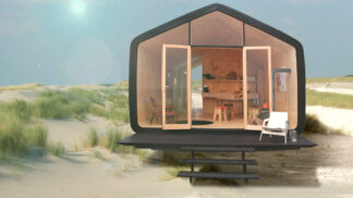 Budoucnost bydlení? Domek se životností 100 let, který si můžete zvětšit či zmenšit dle libosti