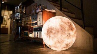 Měsíční lampa dodá ložnici romantiku noci pod širákem. Vyrobte si ji z obyčejného balónku!