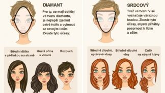 6 perfektních účesů pro 6 tvarů obličeje
