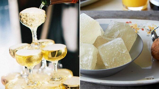 Šampaňské formičkám na led sluší. Zmrzlé bublinky jsou hitem letošního léta