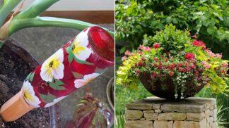 Skvělý způsob, jak zavlažovat pokojové rostliny, když odjedete na dovolenou