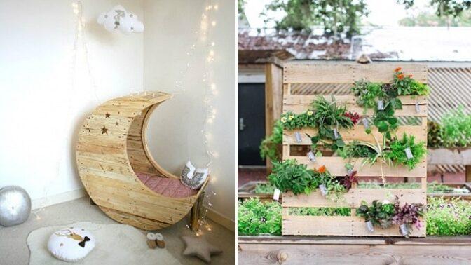 16 skvělých způsobů využití dřevěných palet
