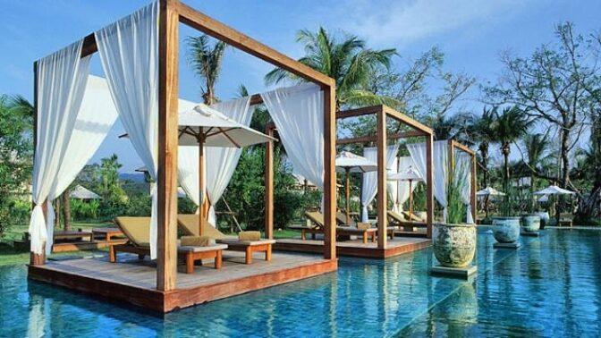 Nejkrásnější hotelové bazény světa