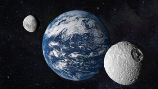 Země má nejspíš dva měsíce, zjistili astronomové