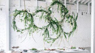 Vyrobte si sami: Závěsná květinová dekorace nad jídelní stůl