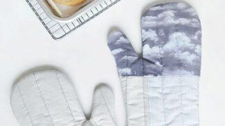 Vyrobte si krásné kuchyňské rukavice