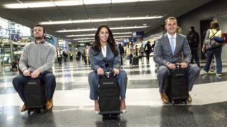 Budoucnost cestování: Po letištích budeme jezdit na motorizovaných kufrech