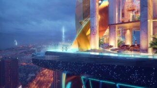 V Dubaji roste první hotel s vnitřním tropickým deštným lesem