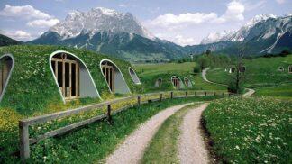 Bydlení pro milovníky Hobita a Pána prstenů: Tyto útulné a ekologické domky vás okouzlí