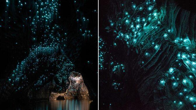 Odhalte tajemství jeskyně, ve které v noci září podivná pohyblivá světla