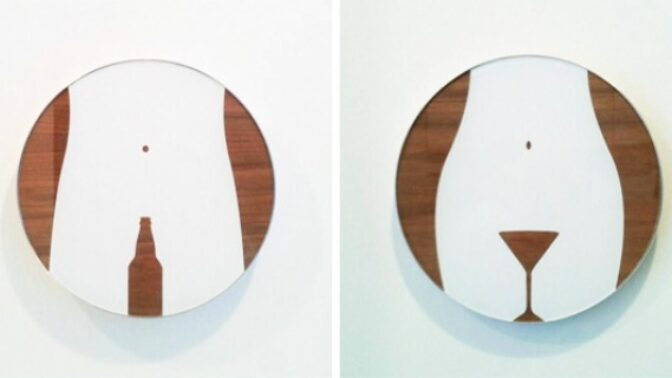 15 poutavých záchodových cedulí, které dokonale ilustrují rozdíl mezi mužem a ženou