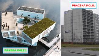 V Kodani postavili plovoucí vysokoškolské koleje. Neuhádnete z čeho