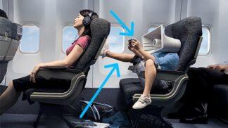 6 pravidel etikety na palubě letadla aneb jak taktně umlčet spolusedícího, co si chce povídat, když vy zrovna ne
