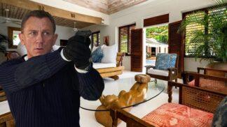 Bydlete jako James Bond. Podívejte se do luxusní vily, ve které se zrodil legendární agent 007