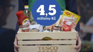 Potravinové banky rozdělí mezi potřebné potraviny za 4 a půl milionu korun