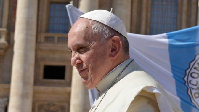 Papež František promluvil o koronaviru. Je to podle něj odplata přírody za to, jak se k ní lidé chovají